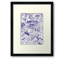 In The Mind of Phil.  Framed Print