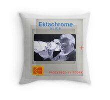 Rear Window (Negative) Throw Pillow
