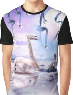 The Song of Swans and Falling Stars Graphic T-Shirt