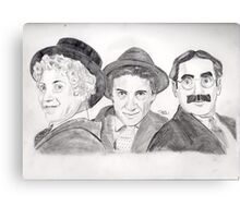 Marx Bros Canvas Print