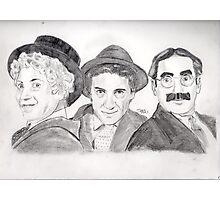 Marx Bros Photographic Print