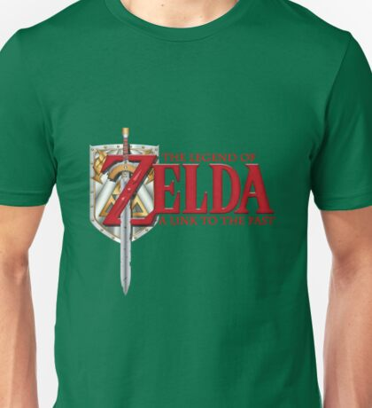 The Legend of Zelda - A Link To The Past SNES Unisex T-Shirt