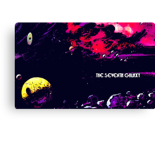 The Seventh Galaxy Canvas Print