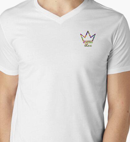 Crown Lux Mens V-Neck T-Shirt