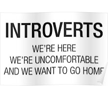 INTROVERTS Poster