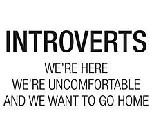 INTROVERTS Photographic Print