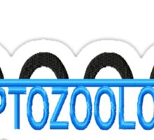 Cryptozoologist Linear Sticker