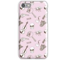 221B Pattern iPhone Case/Skin