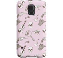 221B Pattern Samsung Galaxy Case/Skin