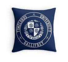 Gallifrey University Throw Pillow