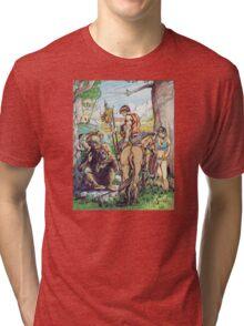 Cults of Prax - Steve Swenston cover image Tri-blend T-Shirt