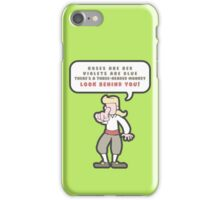 Little Monkey Poem iPhone Case/Skin