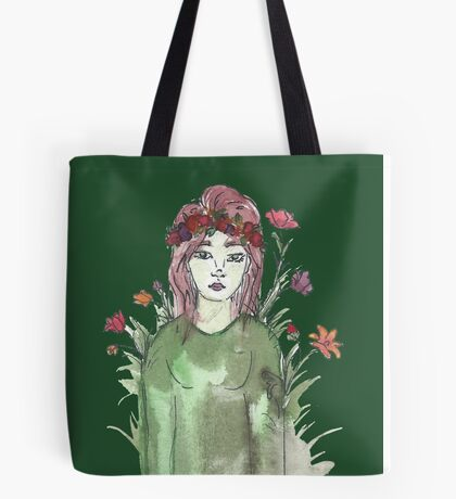 Can I Just Be a Flower Instead? Tote Bag