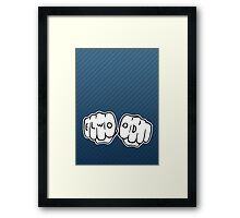 Elwood Blues Hand Framed Print