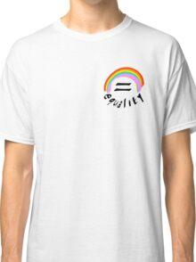 Lgbt equality rainbow Classic T-Shirt