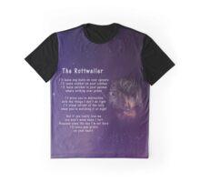 Rottweiler Poem Graphic T-Shirt
