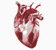 Human Heart Valentine Design Kids Tee