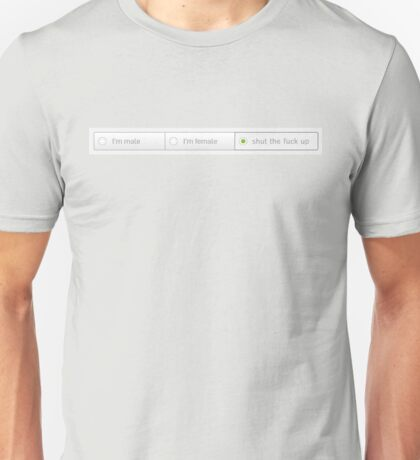 please select gender Unisex T-Shirt