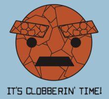 It's Clobberin' Time! Baby Tee