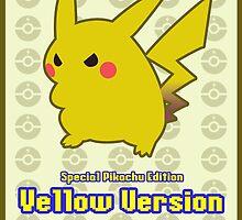 Pokémon: Yellow Version LARGE by Gefemon2