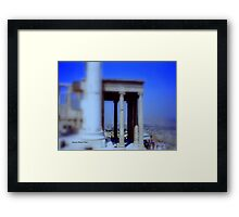 View from Parthenon Framed Print