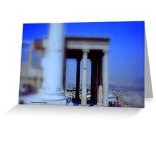 View from Parthenon Greeting Card