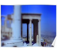 View from Parthenon Poster