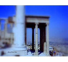 View from Parthenon Photographic Print