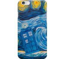 Starry Tardis Night iPhone Case/Skin