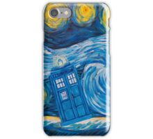 Starry Tardis Night iPhone Case/Skin