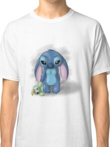 Stitch - Lonely Classic T-Shirt