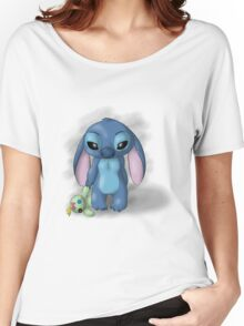 Stitch - Lonely Women's Relaxed Fit T-Shirt