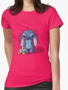 Stitch - Lonely Womens Fitted T-Shirt