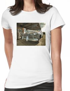 Abandoned 1944 Cadillac Womens Fitted T-Shirt