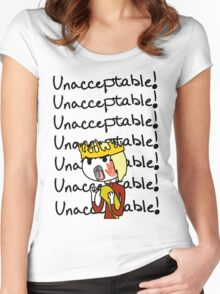 Joffrey - Unacceptable!! Women's Fitted Scoop T-Shirt
