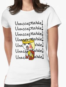 Joffrey - Unacceptable!! Womens Fitted T-Shirt