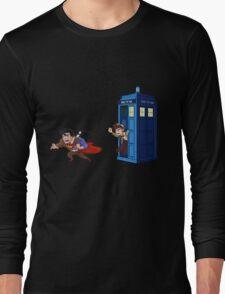 Wrong Phonebooth Long Sleeve T-Shirt