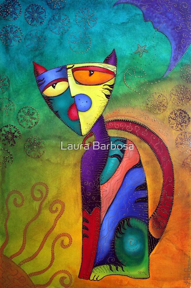 Celestial Cat by Laura Barbosa