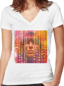 Melody's Echo Chamber Album Cover Women's Fitted V-Neck T-Shirt