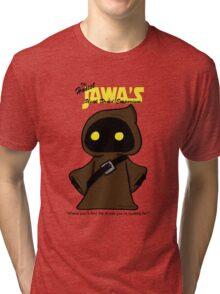 Honest Jawa's Used Droids Emporium Tri-blend T-Shirt
