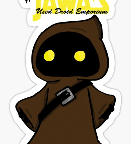 Honest Jawa's Used Droids Emporium Sticker