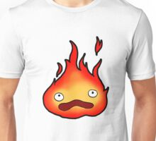 I don't cook! I'm a scary and powerful fire demon! Unisex T-Shirt
