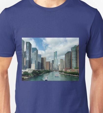 Chicago river Unisex T-Shirt
