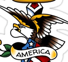 American Traditional Keep America First Sticker