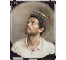 Castiel. White iPad Case/Skin