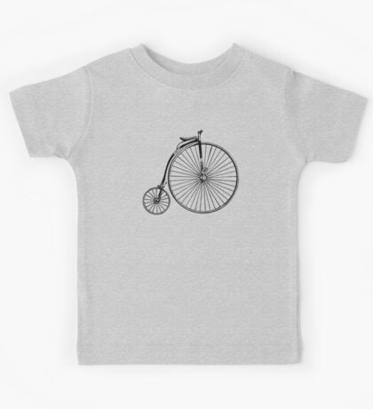 Penny Farthing Bicycle Kids Tee