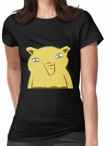 Badly-drawn Drowzee Womens Fitted T-Shirt
