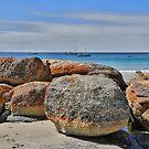East Coast Tasmania australia by Pauline Tims
