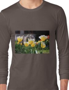 Bright tulips Long Sleeve T-Shirt