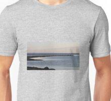Sandbar At Dusk  Unisex T-Shirt